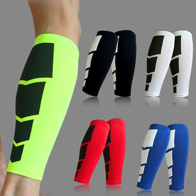 Stretch Calf Compression Sleeves Leg Support Long Socks for Sports Gym Cycling