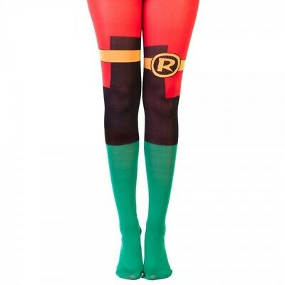 DC Comics Robin Suit Up Tights New!!