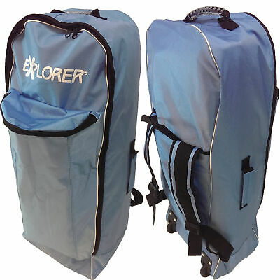 Explorer Sup Trolley Inflatable Stand Up Paddle Board Rucksack Blau Bag Isup Wow