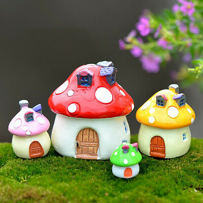 Miniature Fairy Garden Ornament Decor Pot DIY Craft Accessories Dollhouse Gifts