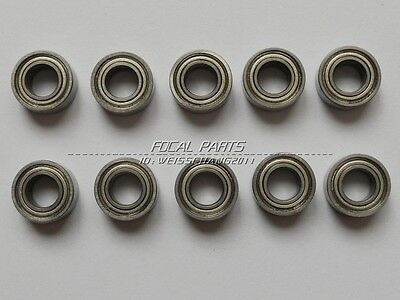 10pcs MR105 MR105ZZ Miniature Bearings Ball Mini Bearing 5 X 10 X 4mm M88