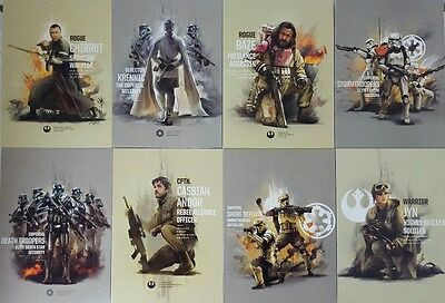 ROGUE ONE Series 2 Trading Card PRIME FORCES  SET OF 10  topps 2017 Star Wars
