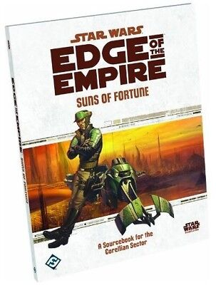 Star Wars Edge Of The Empire RPG Suns Of Fortune New!!