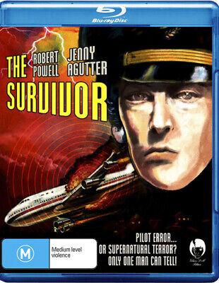The Survivor - Robert Powell - Thriller Movie Blu-ray Region B New!