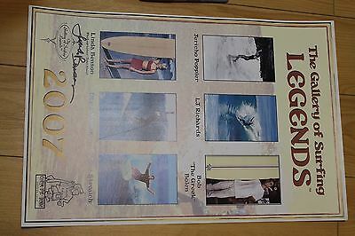 Linda Benson AUTOGRAPHED - Legends 2007 Nuuhiwa 12x18in. O.G. Surfing Poster