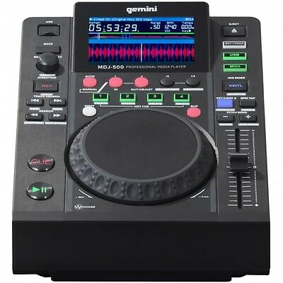 Gemini Mdj 500 Mdj500 Midi Media Player Table Top