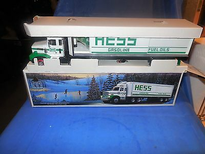 1987 Hess Bank Truck With Barrels In The Original Box!!!