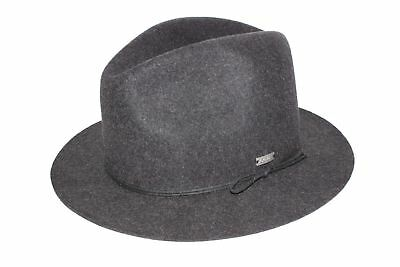New Coal Mens The Drifter Fedora Trilby Wool Cap Hat Small