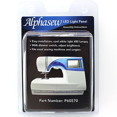 Alphasew LED Panel Light Kit For Household Sewing Machines & Sergers