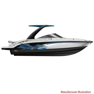 Chaparral Boat Hull Graphic 14.00396 | SSX 236 Blue Carbon (4 Pc Set)