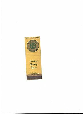 Vintage  Matchbook Cover Southern Railway System