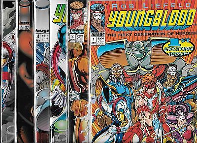 Youngblood Lot Of 12 #1 #2 #3 #4 #5 #6 #7 #8 #9 #0 Annual #1 Battle Zone #1 (Nm-