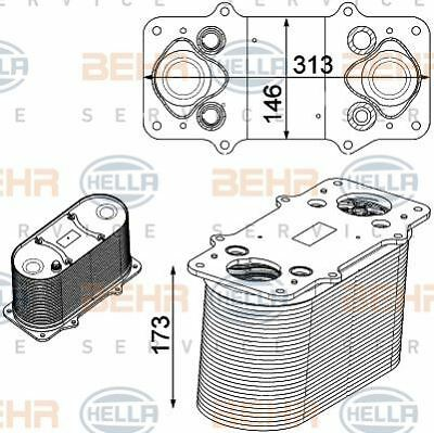 8ML 376 750-511 HELLA Intercooler charger