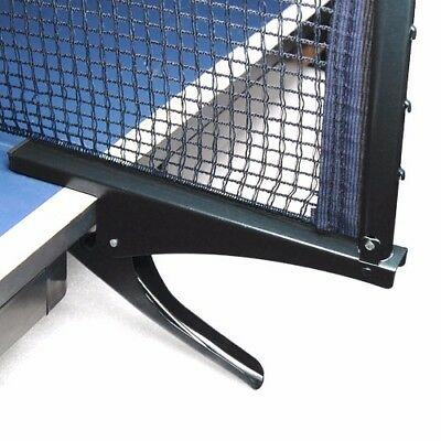 Ping Pong Table Tennis Net Clamp Post Stand Set Replacement Mesh Black