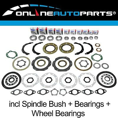 Swivel Hub Spindle Wheel Bearing Kit suits Toyota Landcruiser 80 + 105 Series