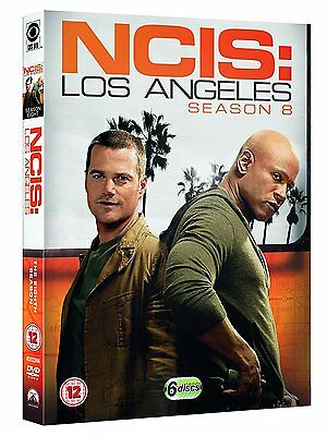 Ncis Los Angeles The Complete Dvd Season 8 Englisch