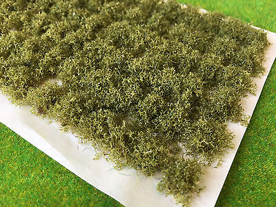 Old Green Bushy Vegetation - Model Railway Scenery Warhammer Plants Bush Base