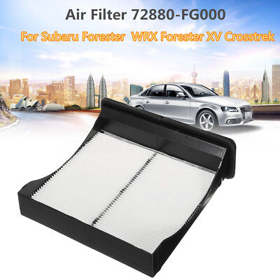 Cabin Air filter 72880-FG000 For Subaru Forester Forester XV Crosstrek Impreza