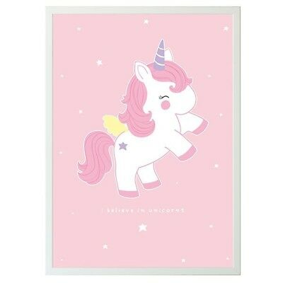 A little lovely Company Poster Baby Einhorn