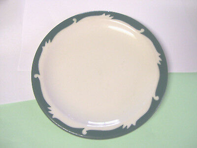 Vintage Syracuse China Plate 9 Luncheon Plate Restaurant Ware Wintergreen