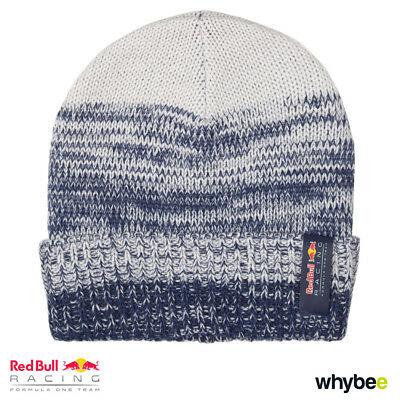 New! 2017 Red Bull Racing Formula One Team Fade Effect Beanie Hat Adult One Size