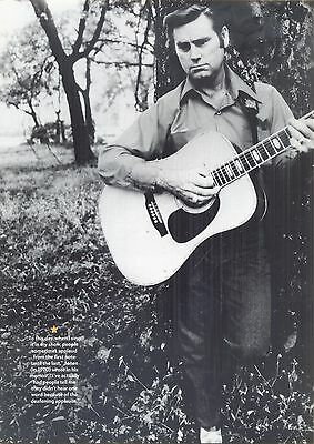 George Jones, Country Music Star in 2012 Magazine Print Photo Clipping