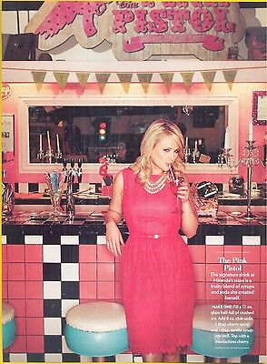 "Miranda Lambert, Country Music Star in 2013 Magazine Clipping, ""The Pink Pistol"""