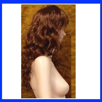 Brand New Female Wig For Mannequin Mannequins Brown NEW