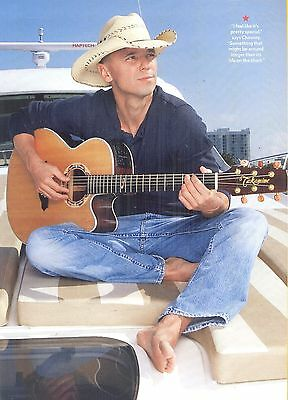 "Kenny Chesney, Country Music Star in 2012 Magazine Clipping, ""I'm Alive"""