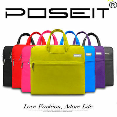 """Laptop Notebook Sleeve Carry Case Cover Bag 11 13 15""""inch Macbook Pro Air Retina"""