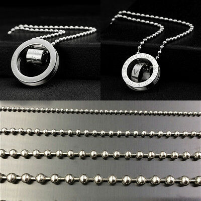 Metal Ball Pearl Chains In Bulk For DIY Bracelet Necklace 3,2,2.4,1.6mm 40-90cm