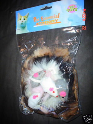 Superb Mice/mouse Sprung Cat Toy