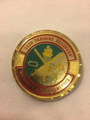 USAF Security Forces Academy, 343rd Training Squadron Challenge Coin E9