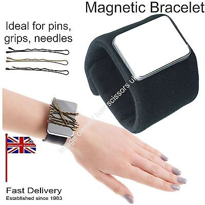 Magnetic Bracelet Wrist Band For Pins Grips Clips Salon Hairdressing Dressmaking