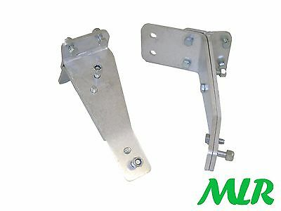 Ford Escort Mk1 Alloy Aluminium Race Rallyspot Light / Lamp Brackets Cibie Arm