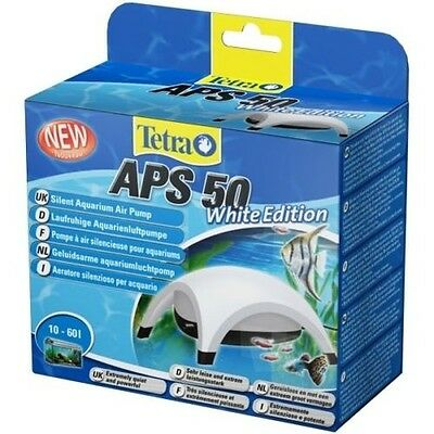 Tetra APS Blanc Edition - POMPE A AIR - par le ventilateur pour aquarium
