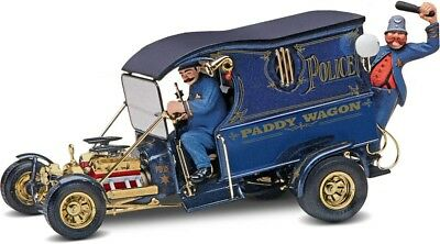 Paddy Wagon Hot Rod w/Figures 1/24 scale skill 2 Revell plastic model kit#4194