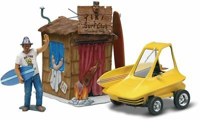 Surfite Hot Rod w/Ed Roth Figure, Hut 1/25 scale skill 3 Revell model kit#4347