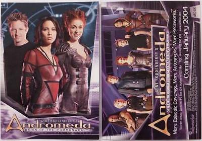 Andromeda  :  Promo Cards Various Series                       ...select /choose