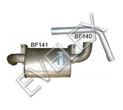 Benford 9 Ton Dumper Exhaust Silencer