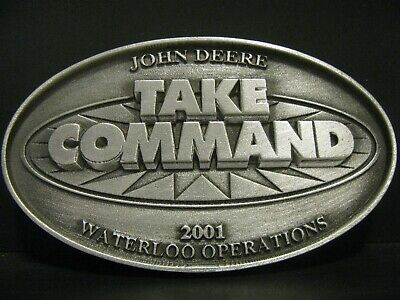 2001 John Deere TAKE COMMAND Pewter Medallion Limited Ed Waterloo Operations jd
