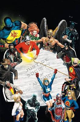 JUSTICE SOCIETY OF AMERICA POSTER #1 (Alex Ross) POSTER 24 x 36 inches