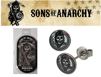 Sons Of Anarchy Boucles oreilles OFFICIELLES reaper official SOA earrings