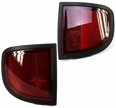 Rear reflector light for Mitsubishi L200 pickup PAIR animal warrior new