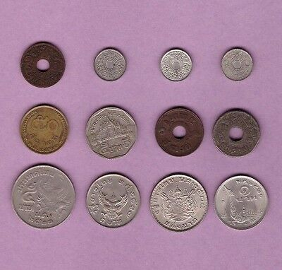 Thailand - Coin Collection - Lot #A - World/Foreign/Asia