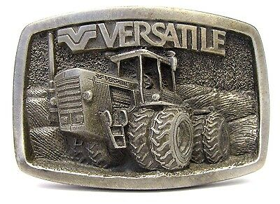 1983 Versatile Farm Equipment 1150 4WD Tractor Intro Pewter Belt Buckle Ltd Ed