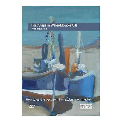 Townhouse DVD : First Steps In Water Mixable Oils : Max Hale