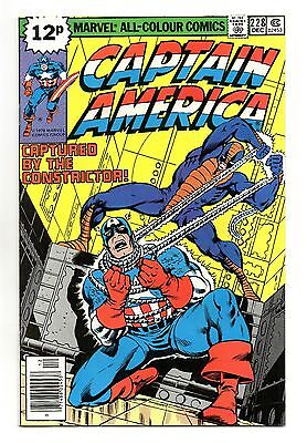 Captain America Vol 1 No 228 Dec 1978 (VFN+) Bronze Age (1970 - 1979)