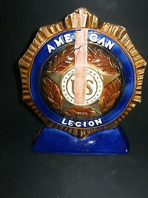 Erza Brooks Denver Colorado 1977 American Legion Decantor
