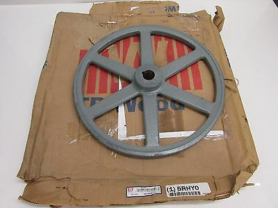"Nos! Tb Woods 1"" Fixed Bore V-Belt Pulley, 13-1/4"" O.d., Ak1341"